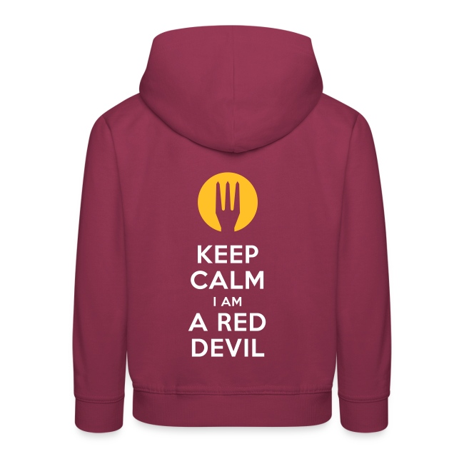 keep calm i am a red devil- Belgium - Belgie
