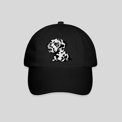 Dalmatiner *schwarz(braun)/weiss* gefüllt - Baseballkappe