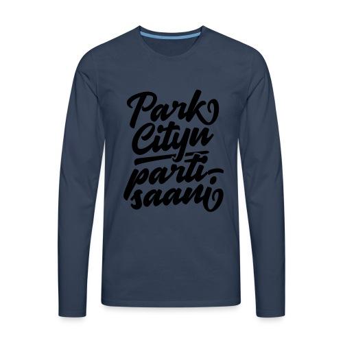 Puistola - Park Cityn partisaani - Miesten premium pitkähihainen t-paita