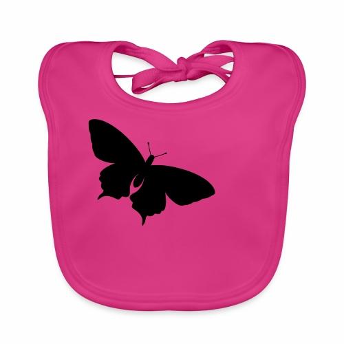 Kleiner Schmetterling - Baby Bio-Lätzchen