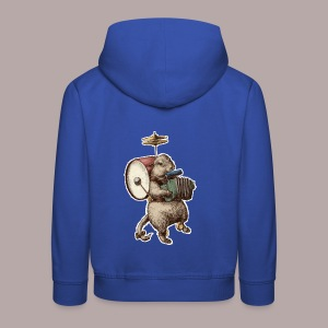 Prairie Dog One Man Band - Kids' Premium Hoodie