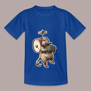 Prairie Dog One Man Band - Kids' T-Shirt