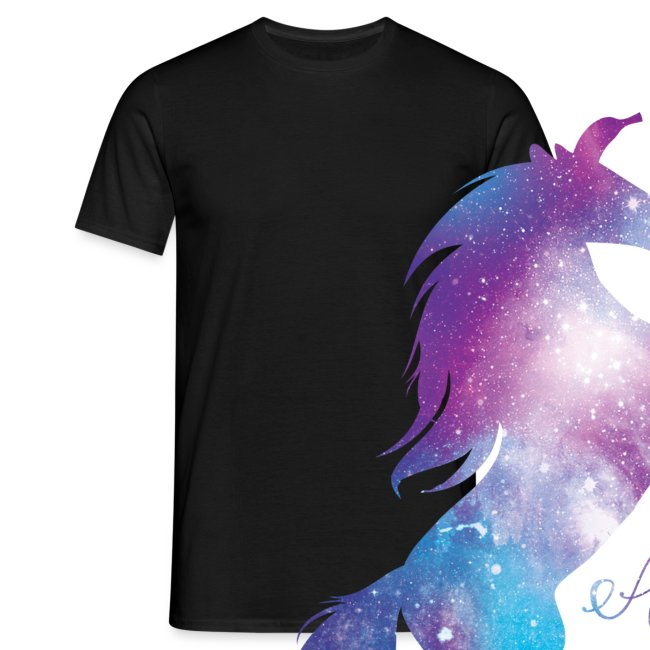 Unicorn mannen t-shirt