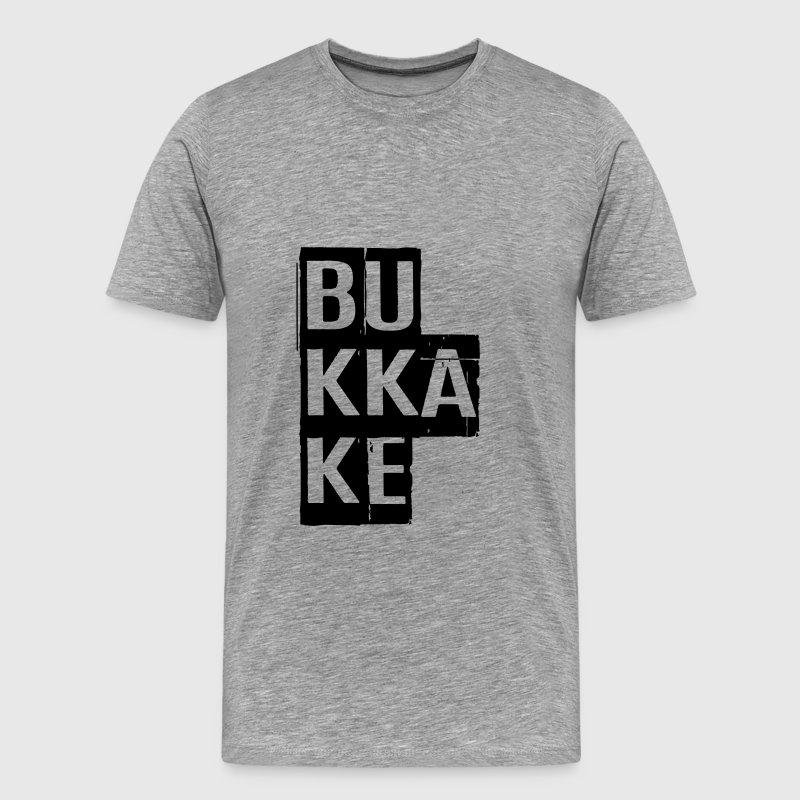 Bukkake, Cum, Porn, Dirty, Cumshot,  NSFW T-Shirts - Men's Premium T-Shirt