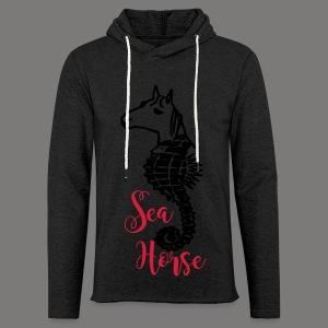 Sea Horse - 2017 - Leichtes Kapuzensweatshirt Unisex