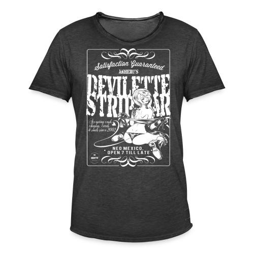 Devil Strip Bar Angel  - Men's Vintage T-Shirt