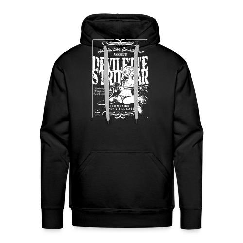 Devil Strip Bar Angel  - Men's Premium Hoodie