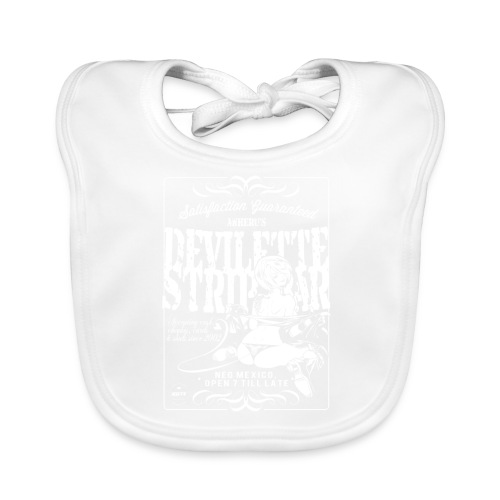 Devil Strip Bar Angel  - Baby Organic Bib