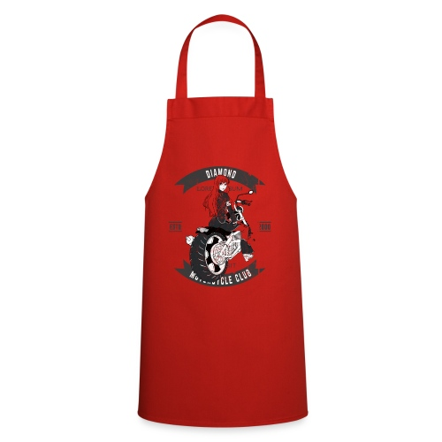 Biker Girl from Anime Hell - Cooking Apron