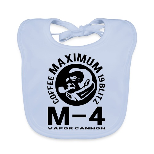 M-4 Maximum Avenger - Baby Organic Bib