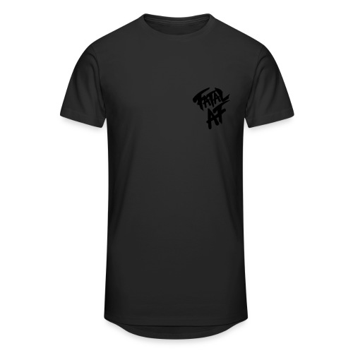 Fatal AF - Men's Long Body Urban Tee