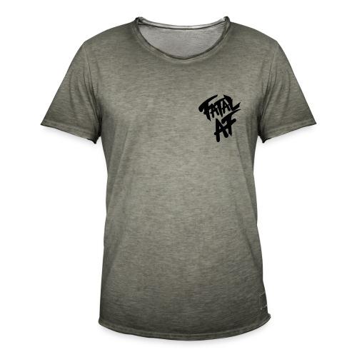 Fatal AF - Men's Vintage T-Shirt