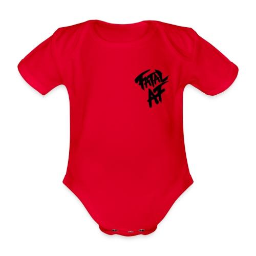 Fatal AF - Organic Short-sleeved Baby Bodysuit