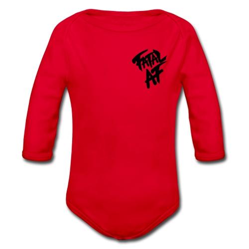 Fatal AF - Organic Longsleeve Baby Bodysuit
