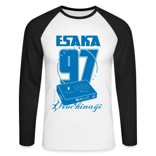 Esaka Stick UK special - Men's Long Sleeve Baseball T-Shirt