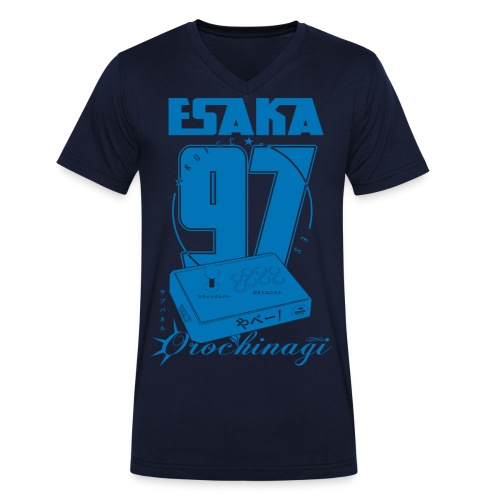 Esaka Stick UK special - Men's Organic V-Neck T-Shirt by Stanley & Stella