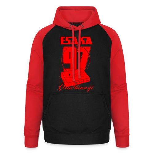 Esaka Red 97 - Sweat-shirt baseball unisexe