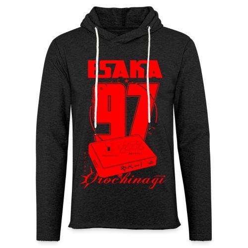 Esaka Red 97 - Sweat-shirt à capuche léger unisexe