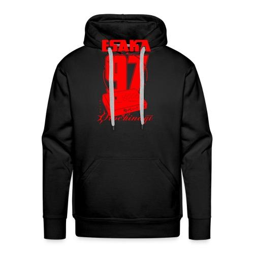 Esaka Red 97 - Sweat-shirt à capuche Premium pour hommes