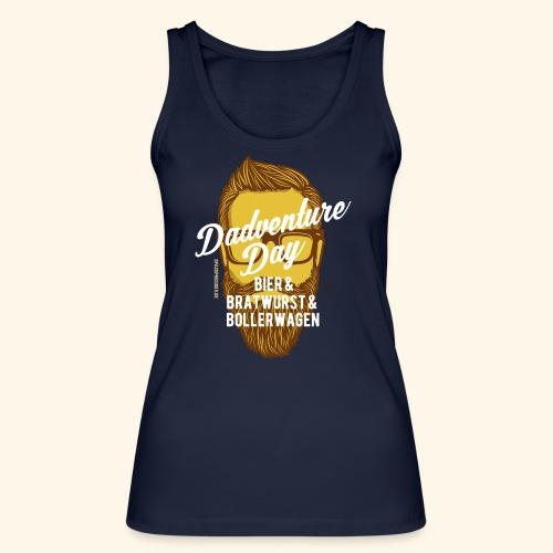 lustiges Vatertags-Shirt Dadventure Day - Frauen Bio Tank Top von Stanley & Stella