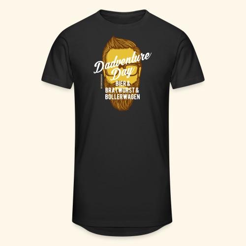 lustiges Vatertags-Shirt Dadventure Day - Männer Urban Longshirt