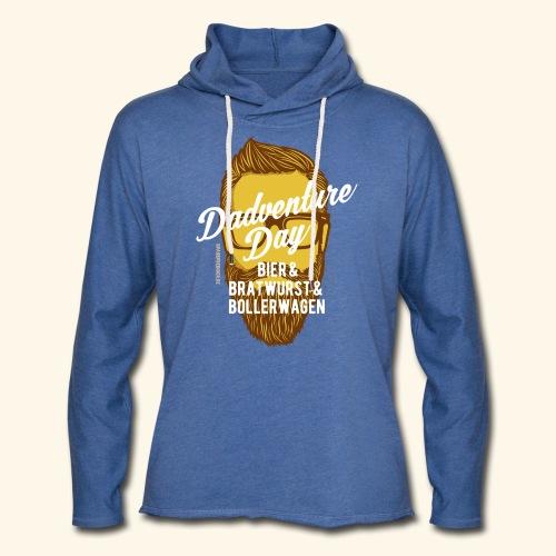 lustiges Vatertags-Shirt Dadventure Day - Leichtes Kapuzensweatshirt Unisex