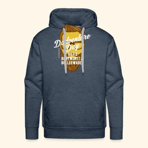 lustiges Vatertags-Shirt Dadventure Day - Männer Premium Hoodie