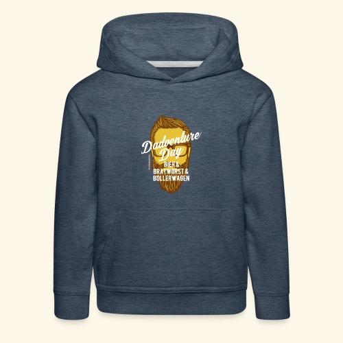 lustiges Vatertags-Shirt Dadventure Day - Kinder Premium Hoodie