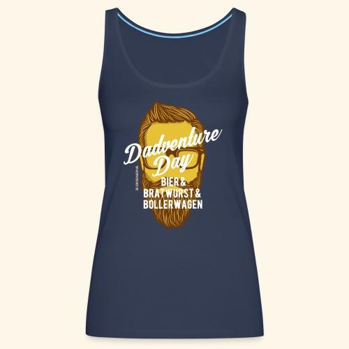 lustiges Vatertags-Shirt Dadventure Day - Frauen Premium Tank Top