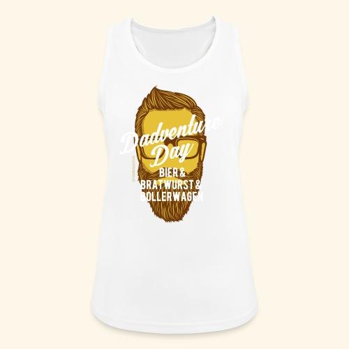 lustiges Vatertags-Shirt Dadventure Day - Frauen Tank Top atmungsaktiv