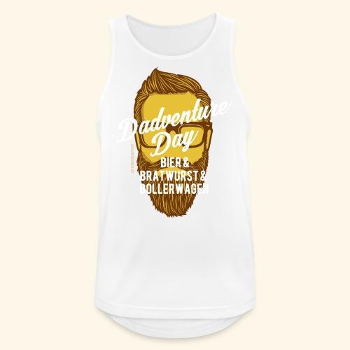 lustiges Vatertags-Shirt Dadventure Day - Männer Tank Top atmungsaktiv