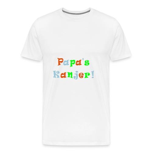 Slab papa's Kanjer  - Mannen Premium T-shirt