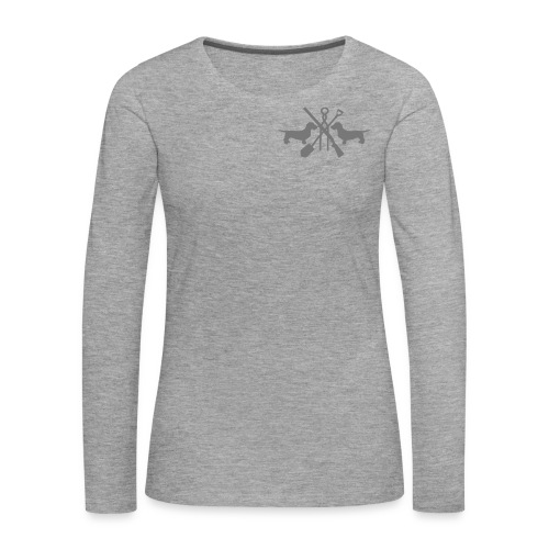 pink - Frauen Premium Langarmshirt
