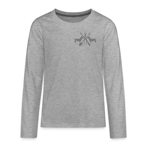 pink - Teenager Premium Langarmshirt