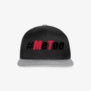 50 Me Too Stinkefinger #metoo ich auch Hashtag T-Shirt - Snapback Cap