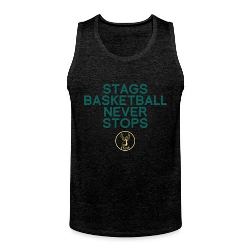Stags Basketball Never Stops - Männer Premium Tank Top