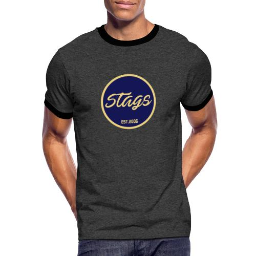 Stags Founder - Männer Kontrast-T-Shirt