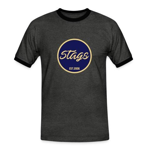 Stags Founder - Männer Kontrast-T-Shirt