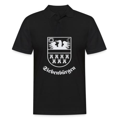 T-Shirt Siebenbürgen-Wappen Siebenbürgen schwarz - Männer Poloshirt