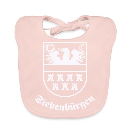 T-Shirt Siebenbürgen-Wappen Siebenbürgen schwarz - Baby Bio-Lätzchen