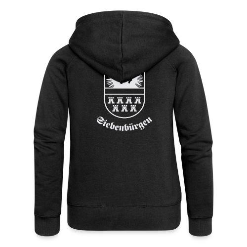 T-Shirt Siebenbürgen-Wappen Siebenbürgen schwarz - Frauen Premium Kapuzenjacke