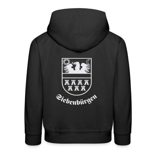 T-Shirt Siebenbürgen-Wappen Siebenbürgen schwarz - Kinder Premium Hoodie
