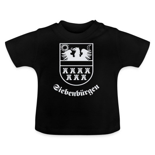 T-Shirt Siebenbürgen-Wappen Siebenbürgen schwarz - Baby T-Shirt