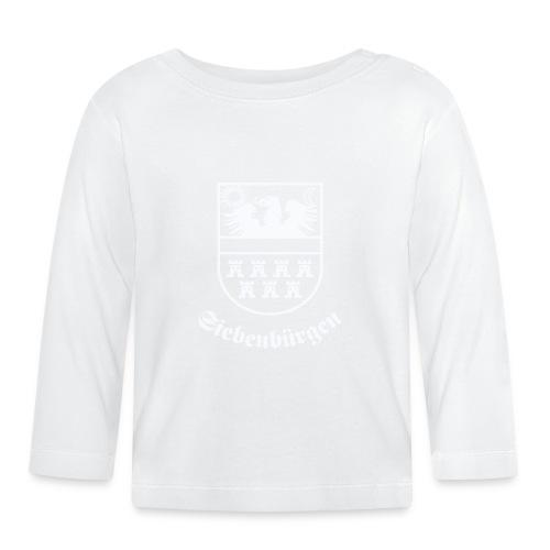 T-Shirt Siebenbürgen-Wappen Siebenbürgen schwarz - Baby Langarmshirt