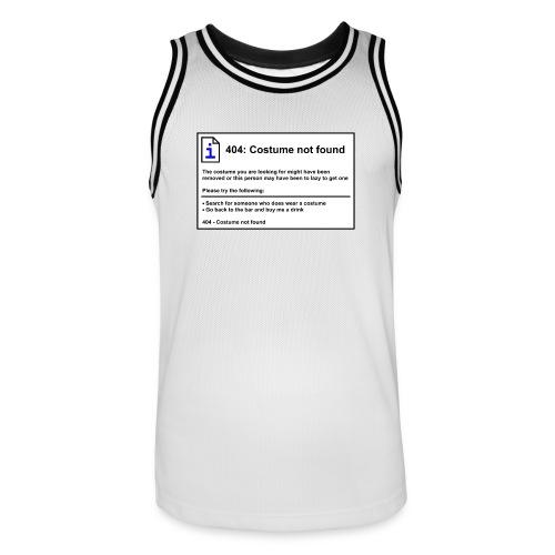 Mannen basketbal shirt