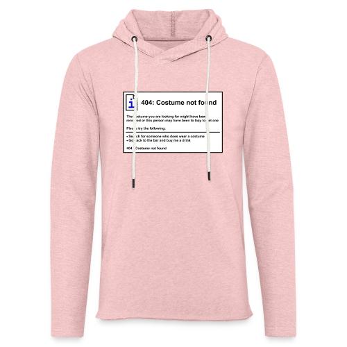 Lichte hoodie unisex