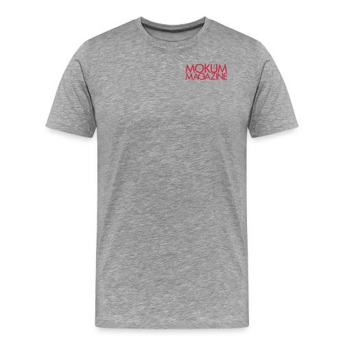 Dames shirt Mokum Magazine logo - Mannen Premium T-shirt