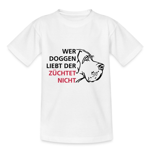 Doggenliebe - Teenager T-Shirt