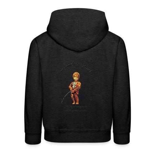 mannekenpis / Leopard - Pull à capuche Premium Enfant