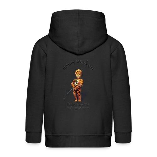 mannekenpis / Leopard - Veste à capuche Premium Enfant